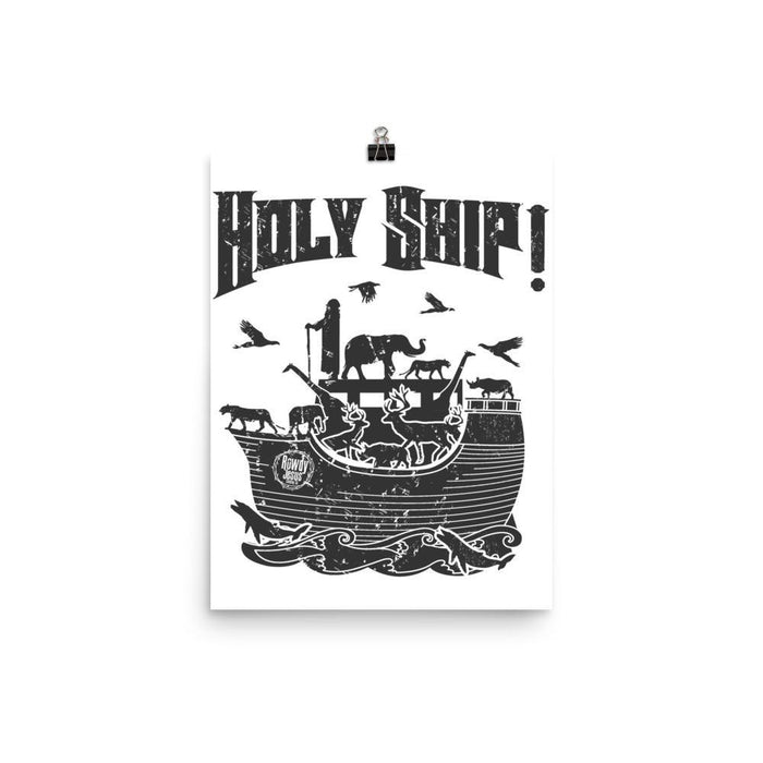 Wall Poster - Holy Ship!
