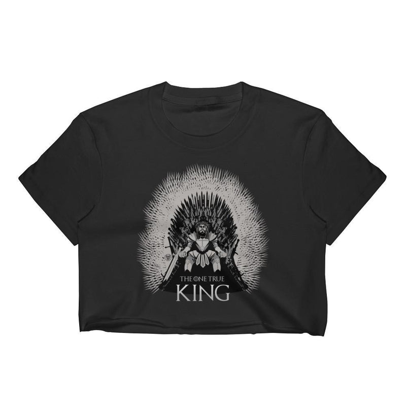 Women's Crop Top - One True King