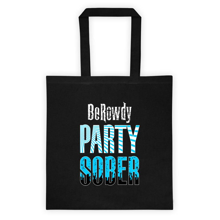 Tote bag - Teal Party Sober