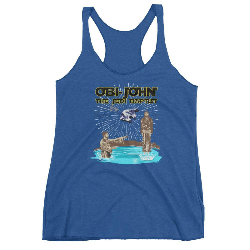 Women's Workout Racerback Tank - Obi-John