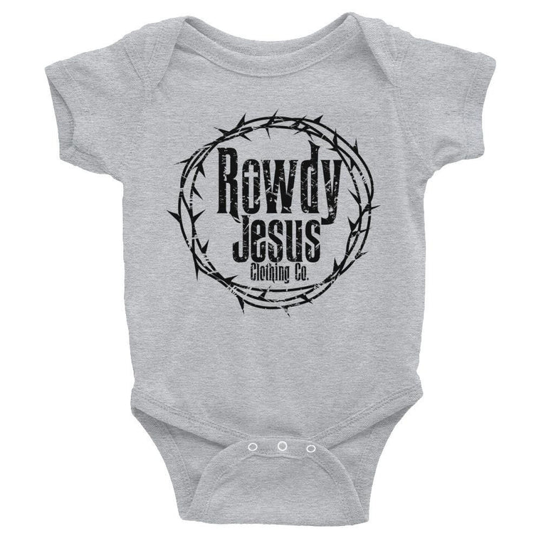Infant Onesie - Black Logo