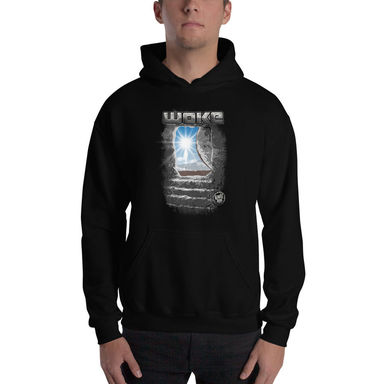 Unisex Hooded Sweatshirt - Woke