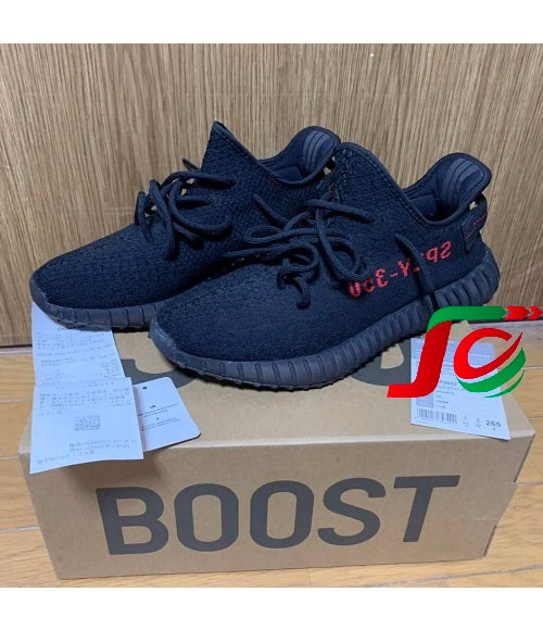 Giầy Adidas Yeezy Boost 350 V2 Bred size 26.5J used 95%