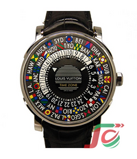 LOUIS VUITTON Escal time zone Q5D200 39mm automatic volume USED
