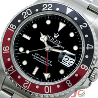 "Rolex GMT Master II ""Tip dot Second"" 16710 E All Tritium Single Buckle USED"