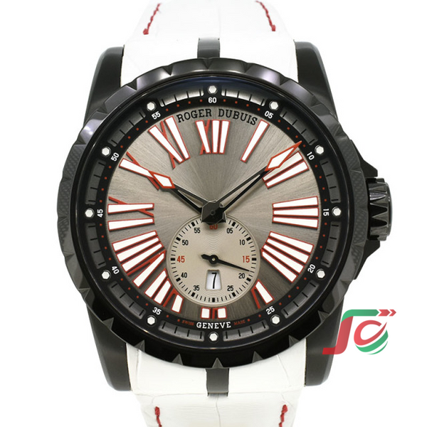 ROGER DUBUIS Excalibur 45 RDDBEX0631 Special Edition Silver Limited to 14 USED