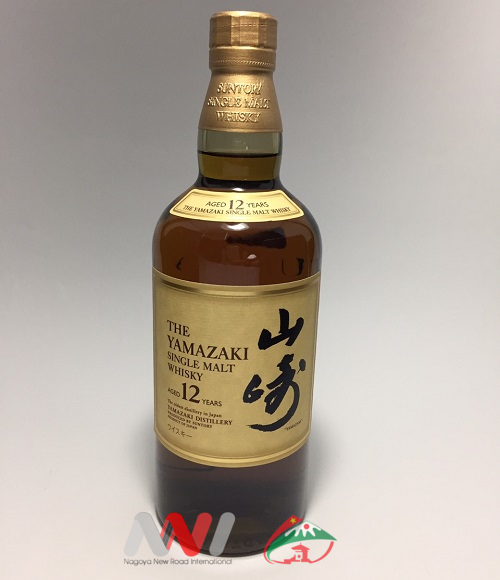 SUNTORY SINGLE MALT WHISKY YAMAZAKI 12 YEARS