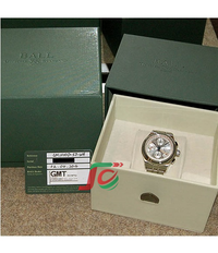 Ball watch Trainmaster Pulse meter Chronograph CM1010D-SJ-WH USED