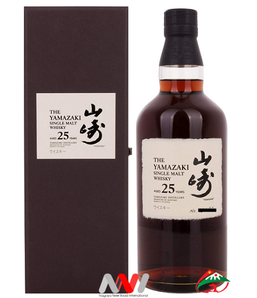 SUNTORY SINGLE MALT WHISKY - YAMAZAKI 25 years