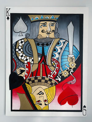 KING & QUEEN OF CARDS