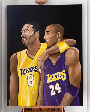 Kobe Bryant Canvas