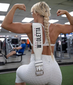 TrainWithWioletta Squat Belt