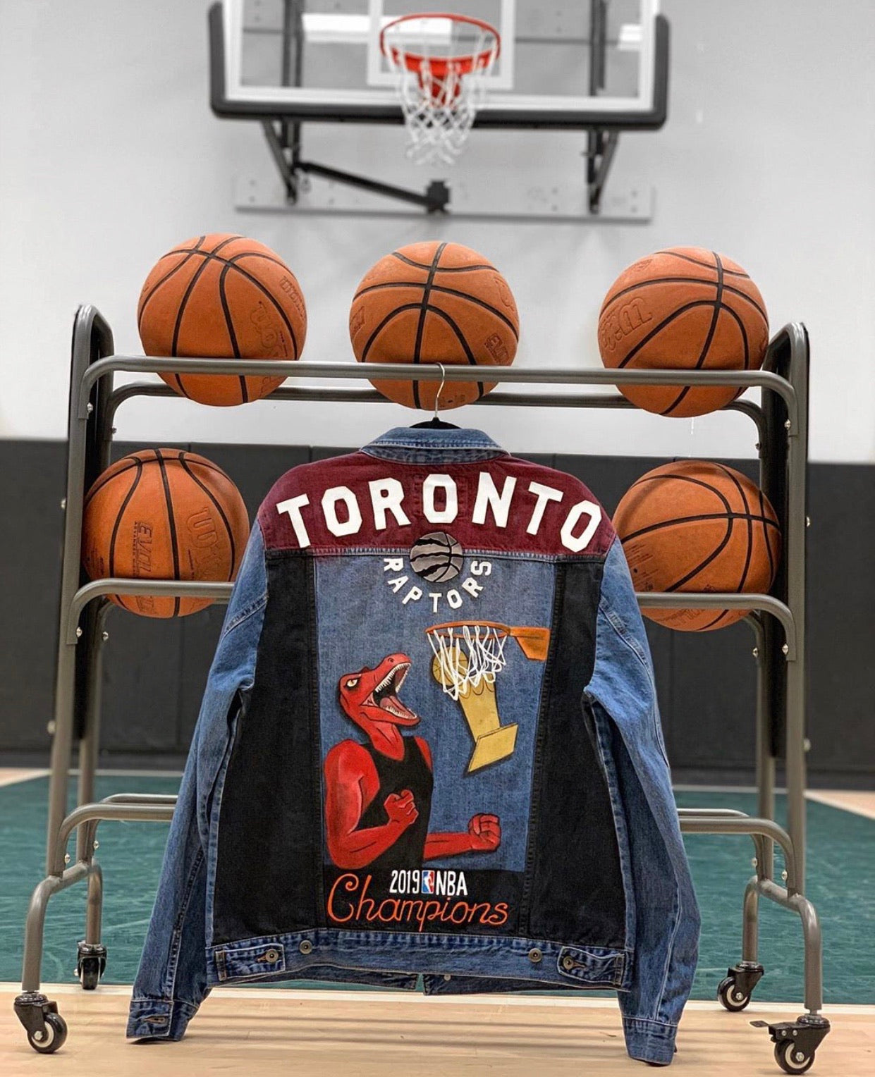 RAPTORS Denim Mens Jacket