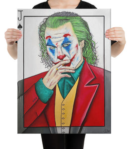 JOKER Print on Canvas