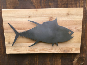 The Big Tuna (Steel Finish on Wood)