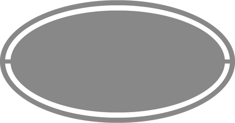Oval with Border