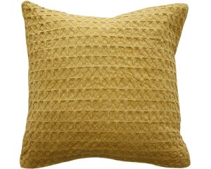 Ochre Cushion 45x45