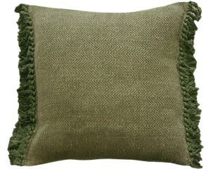 Green and Natural Cushion 45x45