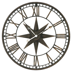 Star Iron Wall Clock