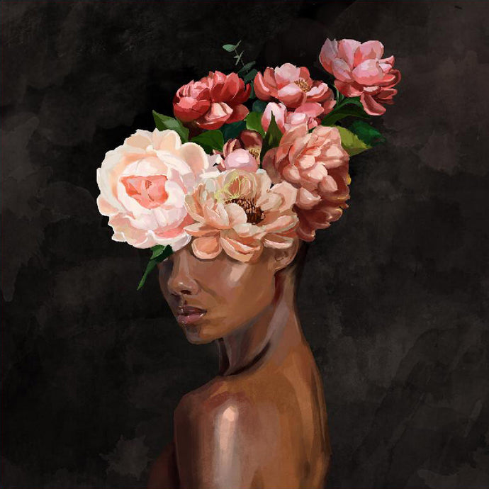 Flower Head Painting