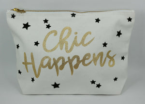 Chic Happens Cosmetic Bag