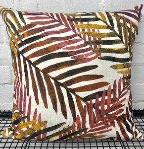 Gully Rust/Ochre Cushion