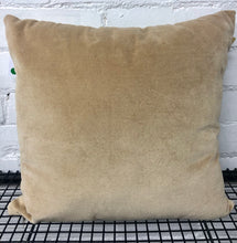 Cushion Velvet Natural