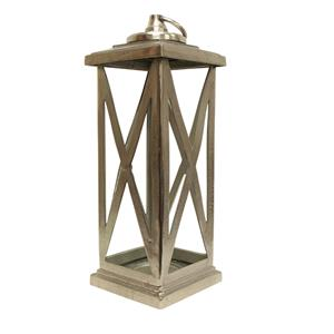 Extra Large Oxford Lantern Silver