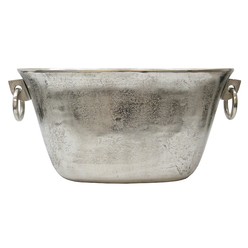 Oblong Silver Wine Bucket