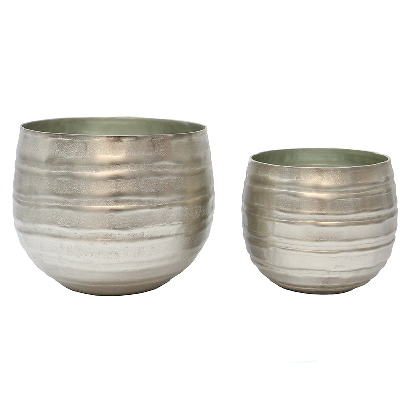 Aluminium Pot Set/2 Lines