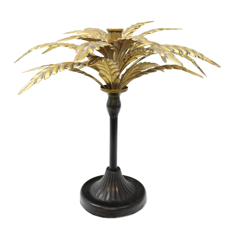 Frond Candlestick Small