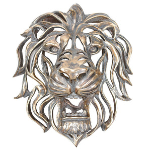 Decorative Lion Head Wall Art