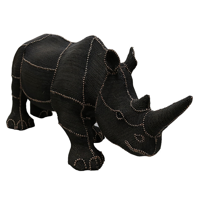 Patch Rhino Decor Piece