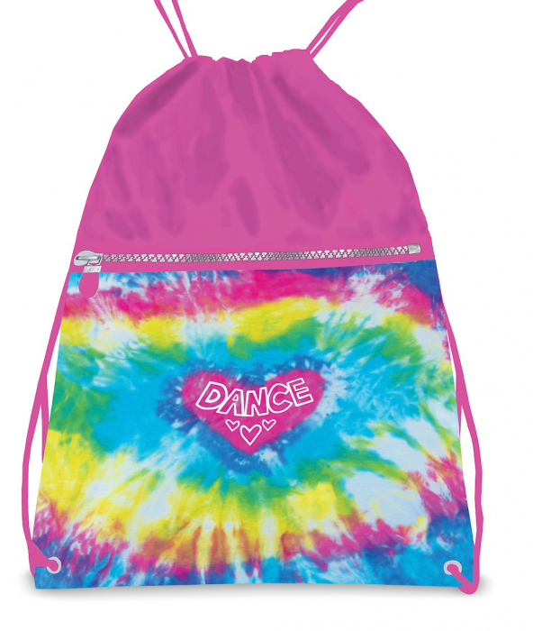 Love tie dye backpack