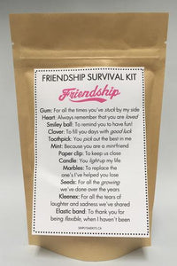 SURVIVAL AND CARE KITS
