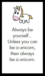 Always be a yourself...