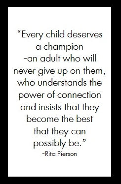 Every child deserves...