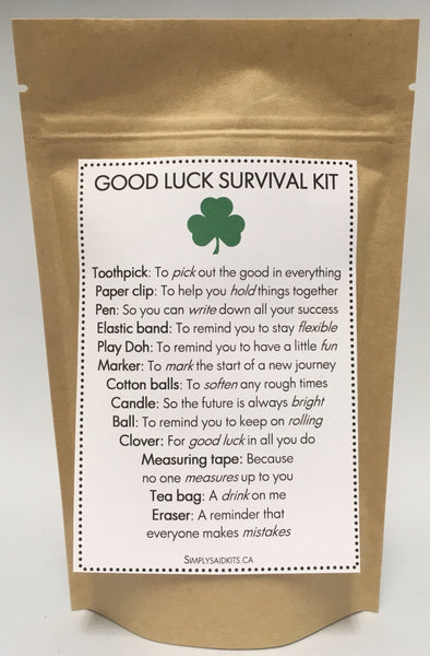 Good Luck  Survival Kit