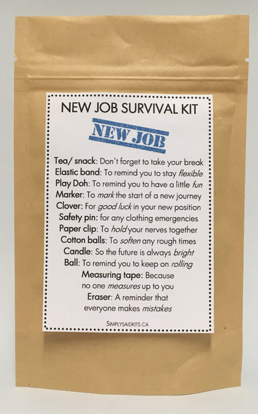 New Job Survival Kit