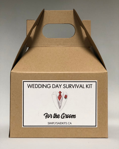 For the Groom-Wedding Day Survival Kit