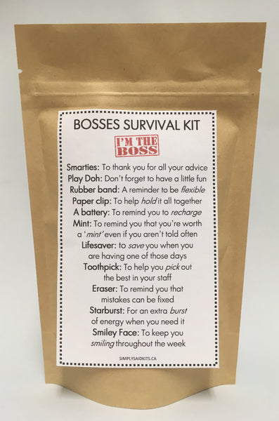 Boss Survival Kit