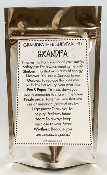 Grandpa's Survival Kit