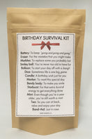 Birthday Survival Kit