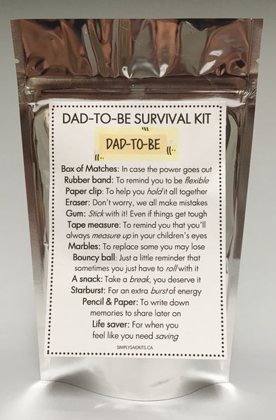 Dad-To-Be Survival Kit