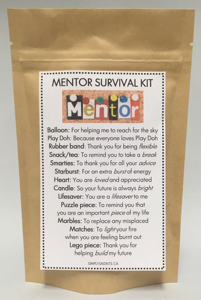 Mentor Survival Kit