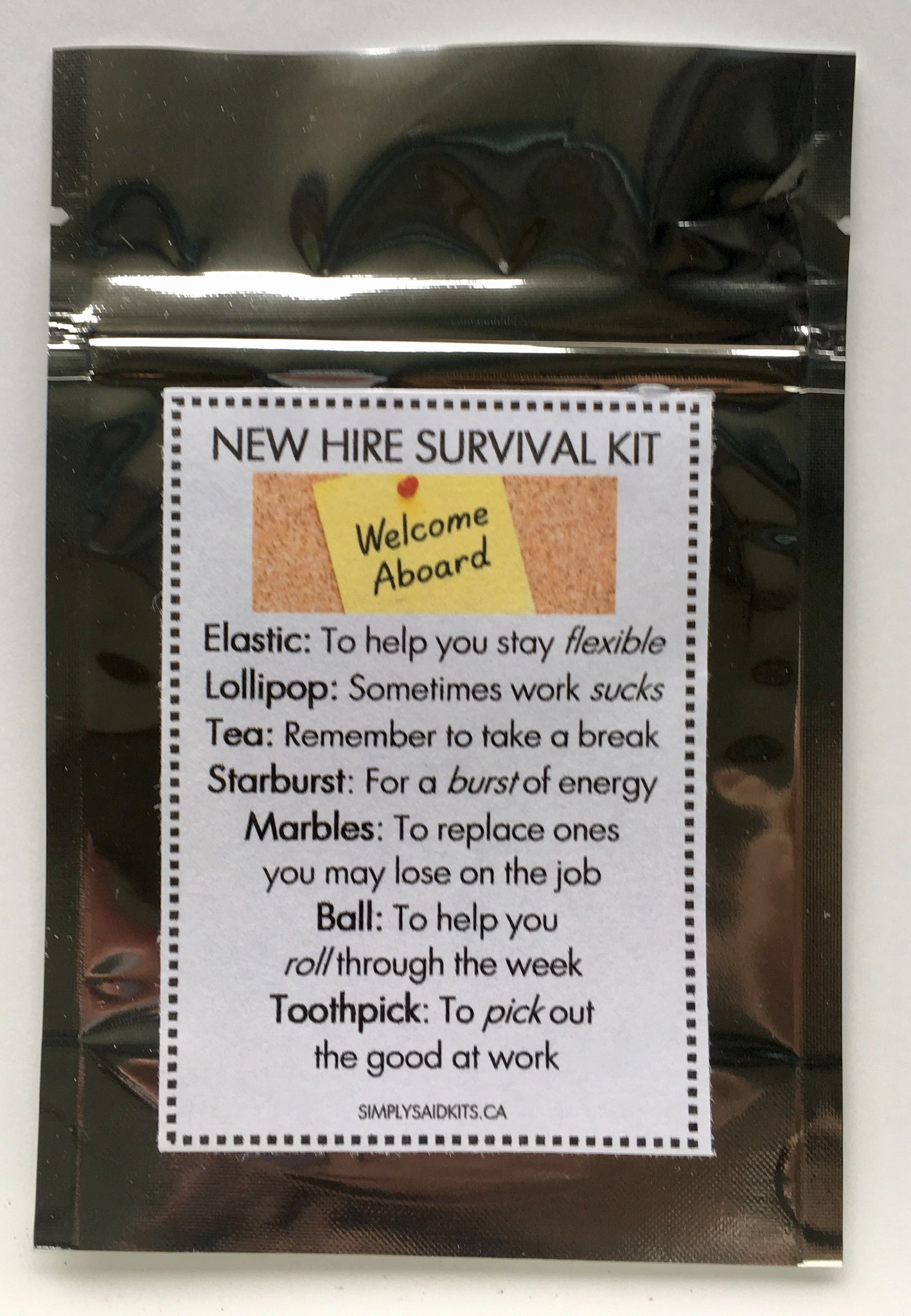 New Hire Survival Kit