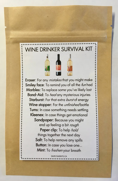 Wine Drinker Survival Kit