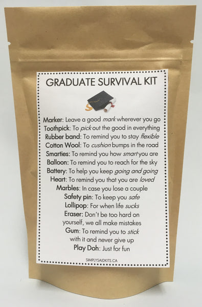 Graduate Survival Kit