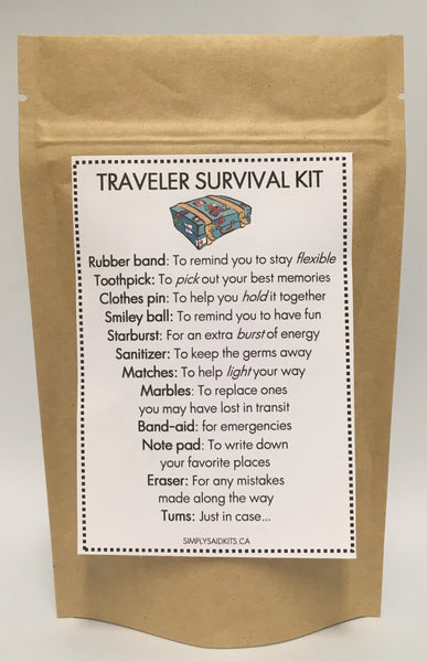 Traveler Survival Kit