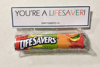 You're a LIFESAVER!